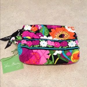Vera Bradley Small cosmetic bag New With Tags